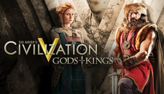 Civilization V 5: Gods and Kings DLC  (Steam / HB link)