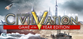 Civilization 5 GOTY (WW) + Thunder Wolves Steam Account
