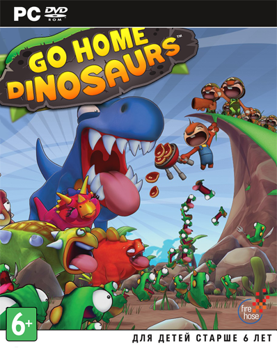 Go Home Dinosaurs!  (Steam Key / ROW / Region Free)