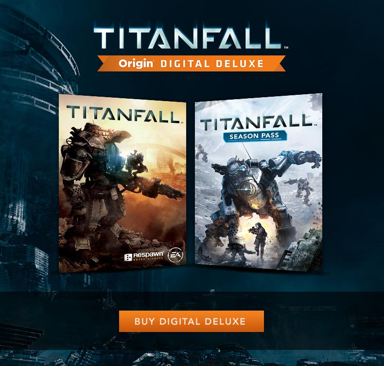 Titanfall Digital Deluxe + Battlefield 3 ROW/with email