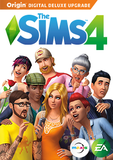 The Sims 4 Digital Deluxe + The Sims 3 ROW / with email