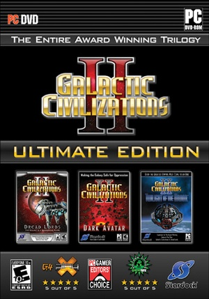Galactic Civilizations II: Ultimate Edition(Steam Gift)