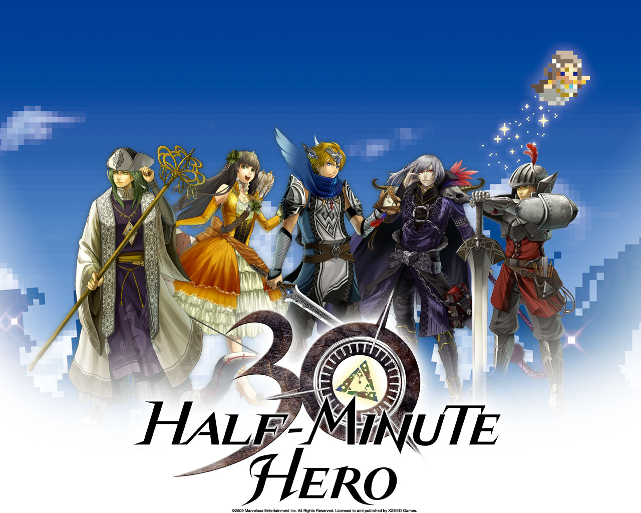 Half Minute Hero Bundle (Steam Gift/Region Free)HB link