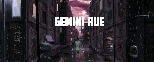 Gemini Rue  (Steam Gift / ROW / Region Free) HB link