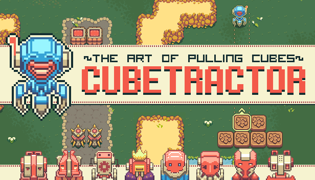 Cubetractor  ( Steam Gift / ROW / Region Free ) HB link