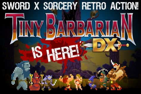 Tiny Barbarian DX  (Steam Gift/ROW/Region Free) HB link