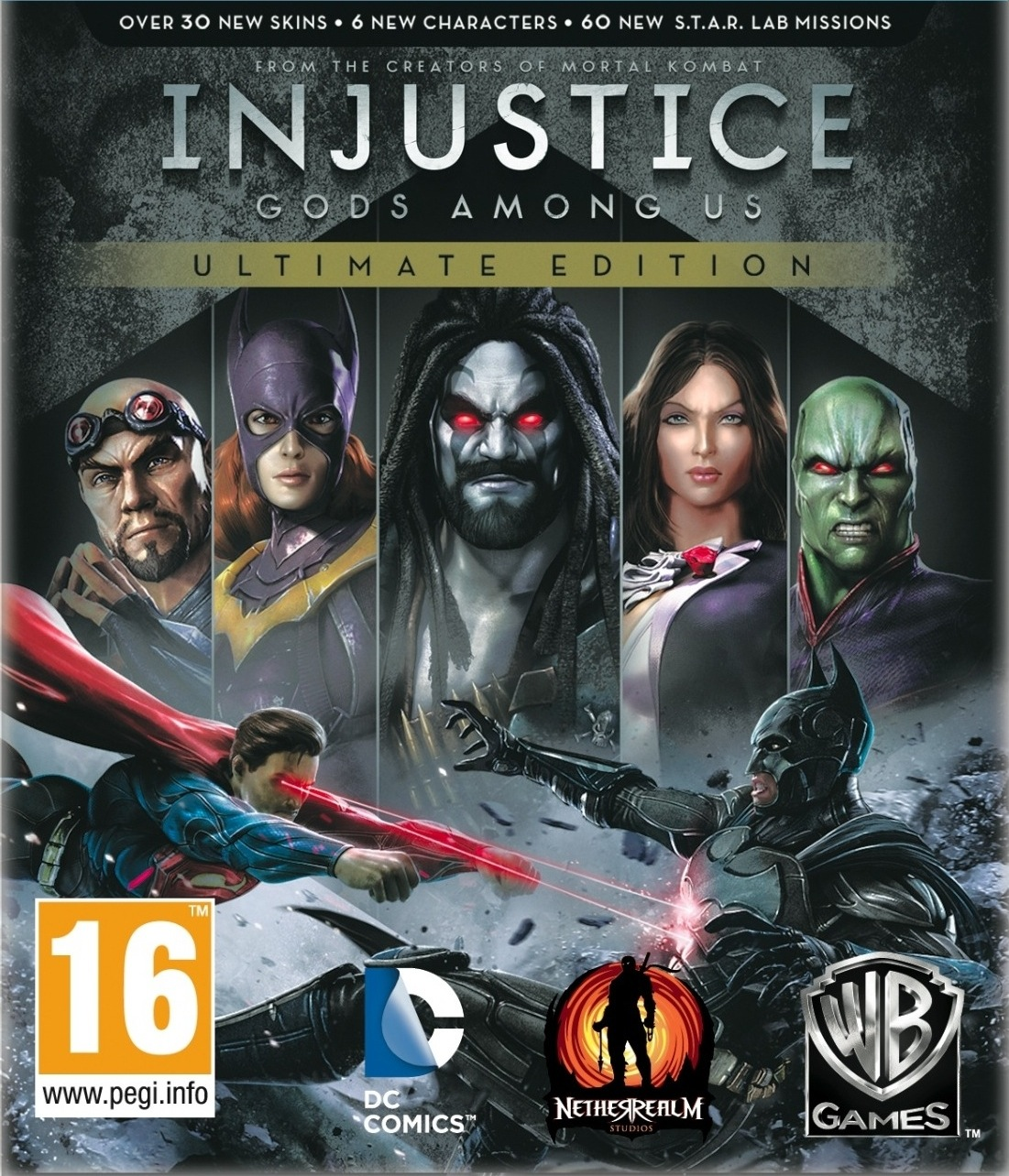 Injustice: Gods Among Us. Ultimate Ed. (Steam) + Gift