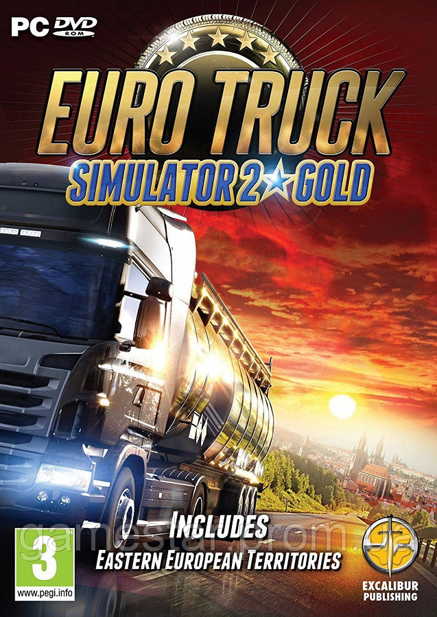 Euro Truck Simulator 2 GOLD Edition (PC) DISCOUNTS