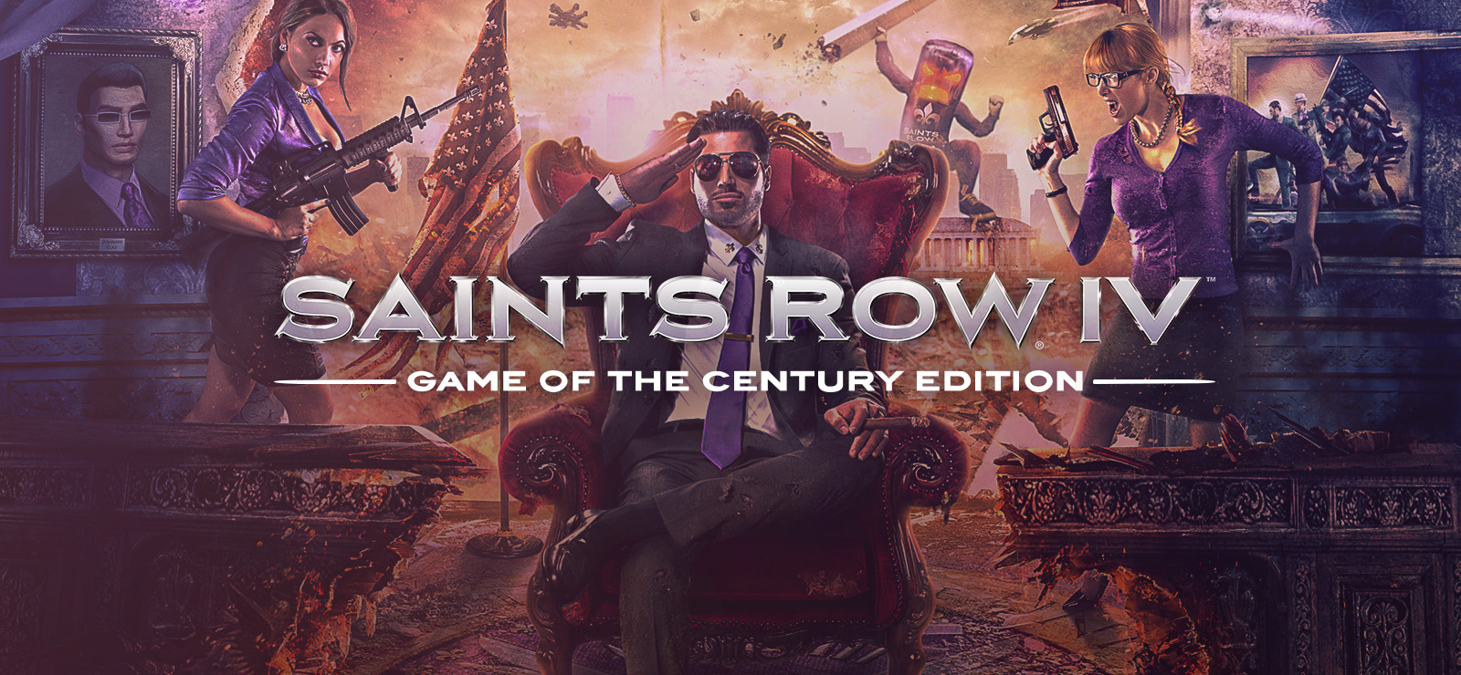 Saints Row IV: Game of the Century Edition ✅ (STEAM) RU