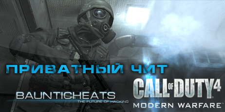 Купить HungerHook Full Call of Duty 4 - 1 месяц (1 month) Чит HungerHook Full ключ на 1 мес.