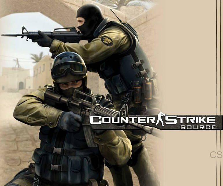 Counter-Strike: Source + Half-Life 2 (Steam account)