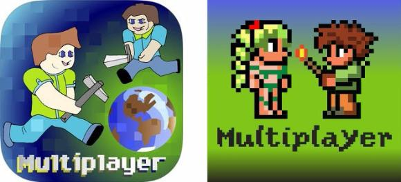 MultiTerraria + MultiMinecraft on iPhone / iPad / iPod