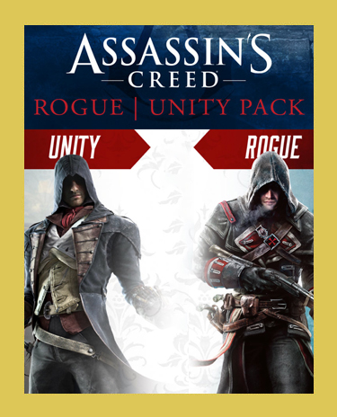 ASSASSINS CREED PACK (UNITY +ROGUE)(Steam/ Region Free)