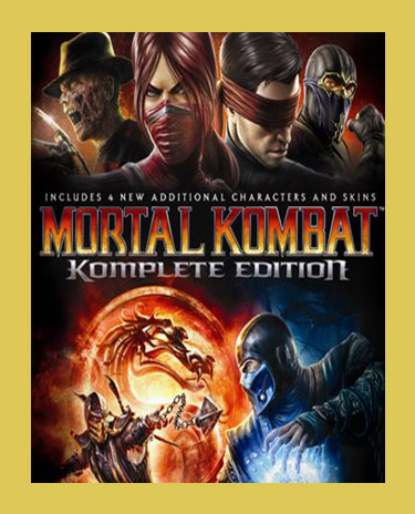 MORTAL KOMBAT KOMPLETE EDITION (Steam)(Region Free)