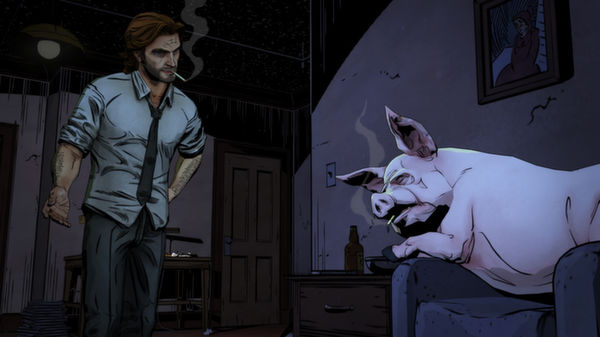 THE WOLF AMONG US (Steam) (Region Free)