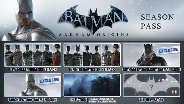 BATMAN:ARKHAM ORIGINS SEASON PASS(Steam)(Region Free)