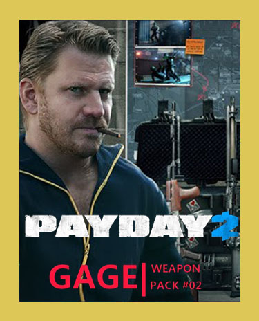 PAYDAY 2: GAGE WEAPON PACK 02