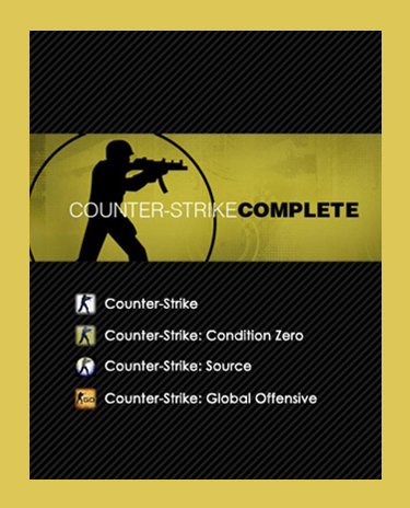 COUNTER-STRIKE COMPLETE (Steam)(Region Free)