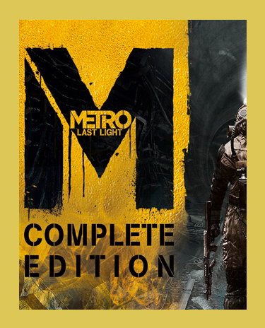 METRO LAST LIGHT COMPLETE (+6 DLC) (Steam)(Region Free)