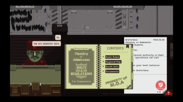 PAPERS, PLEASE (Steam)(Region Free)