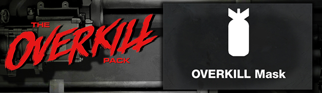 PAYDAY 2: THE OVERKILL PACK (Steam)(Region Free)