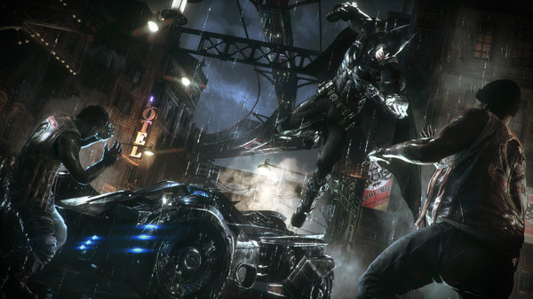 BATMAN: ARKHAM KNIGHT + HARLEY DLC (Steam)(Region Free)