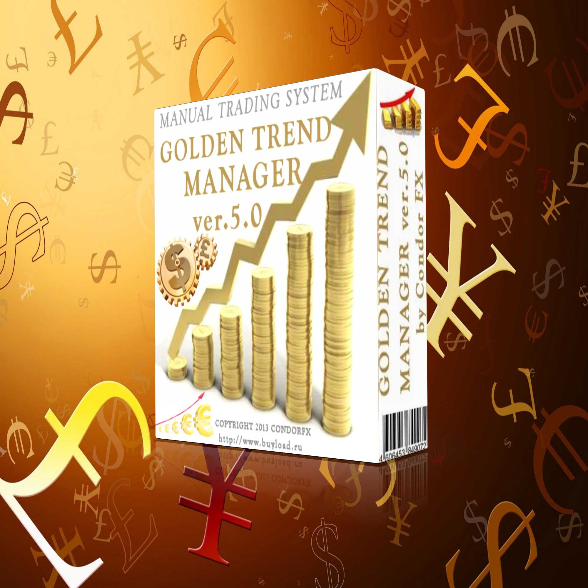 GOLDEN TREND MANAGER 5 - a system of profit for the trader