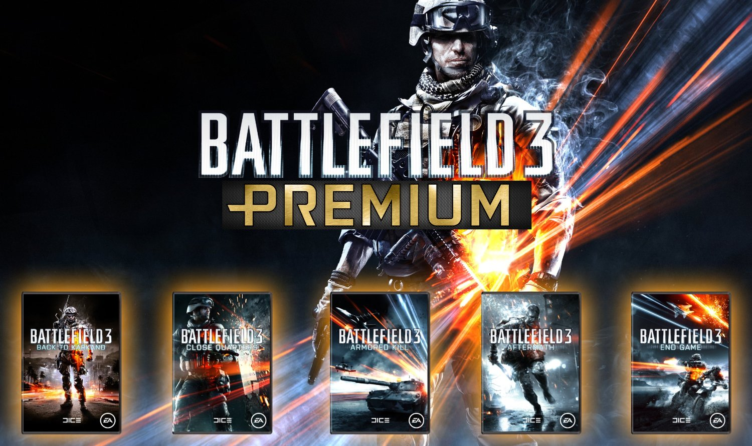 Battlefield 3 Premium (RU/EU) ALL DLC