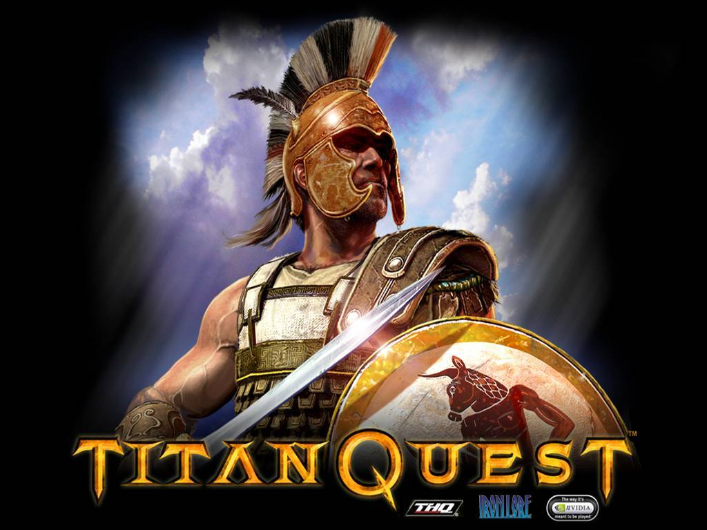 Titan Quest Windows Title Screen.