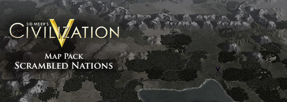 Civilization V: Scrambled Continents+Scrambled Nations