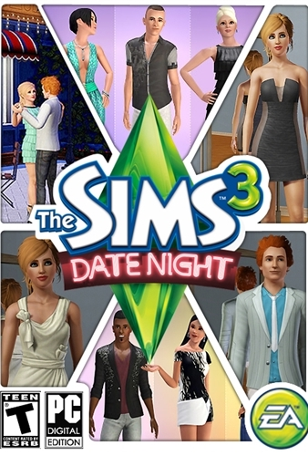 The Sims 3 Date Night (Origin Key Free Region ROW