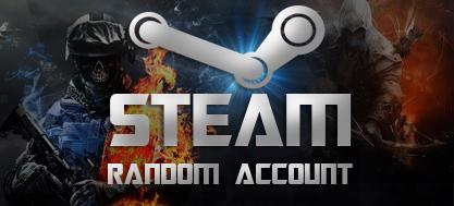 Купить Случайный аккаунт Steam (GTA 5, CSGO, PUBG и другие)