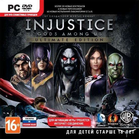 Injustice: Gods Among Us Ultimate Ed (Steam Gift)