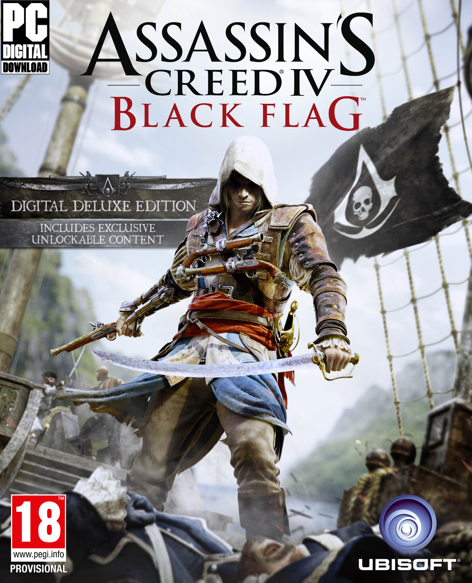 Assassins Creed Black Flag Deluxe (Steam Gift/RU/CIS)