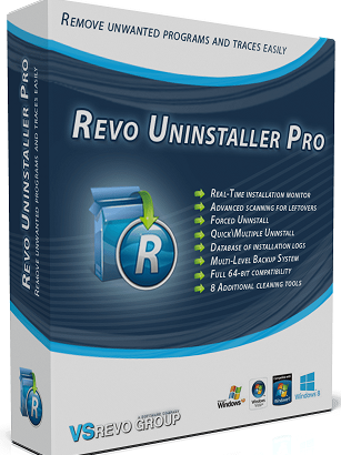Revo Uninstaller Pro 4  -  3 Computer 1 year