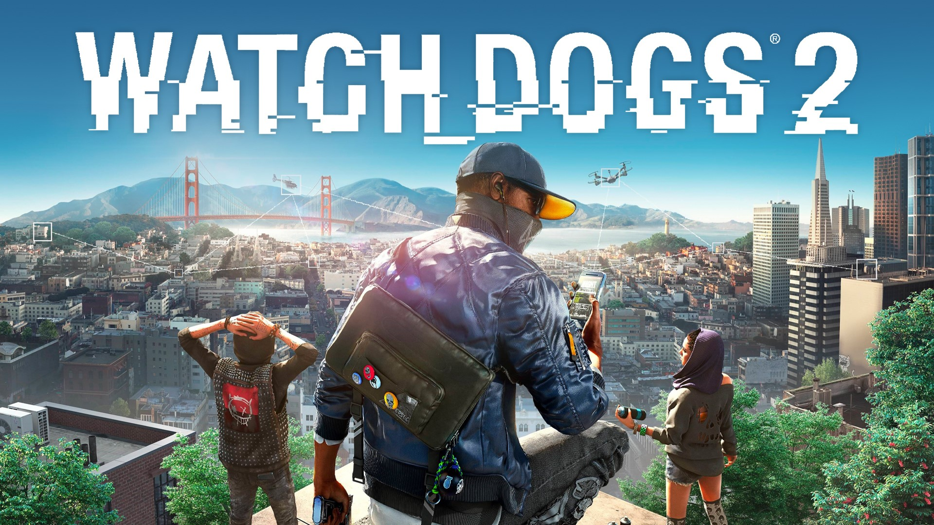 Watch Dogs 2 + Football Manager 2020