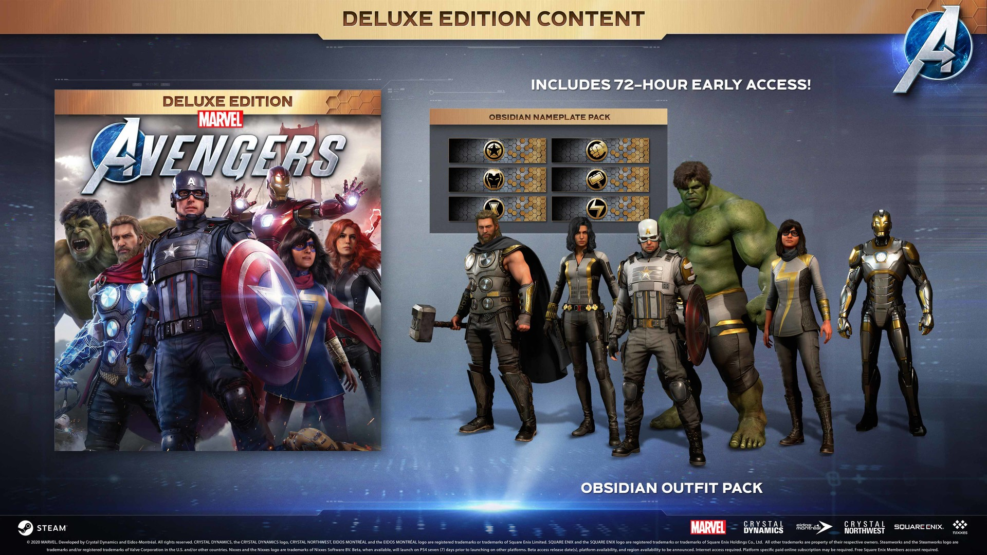 Marvel´s Avengers + DLC + GLOBAL🌎-Steam