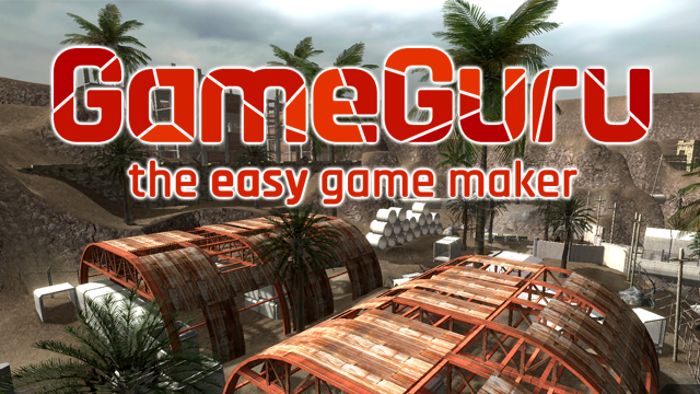 The visual game editor GameGuru (Steam key)