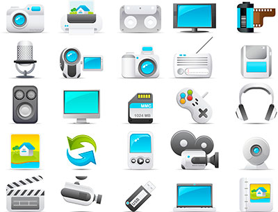 Vector Graphics video, audio and gaming equipment