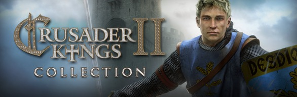 Crusader Kings II Collection (Region free, steam gift)