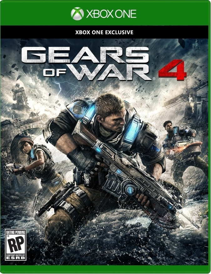Gears of War 4 Xbox One РУС АНГ