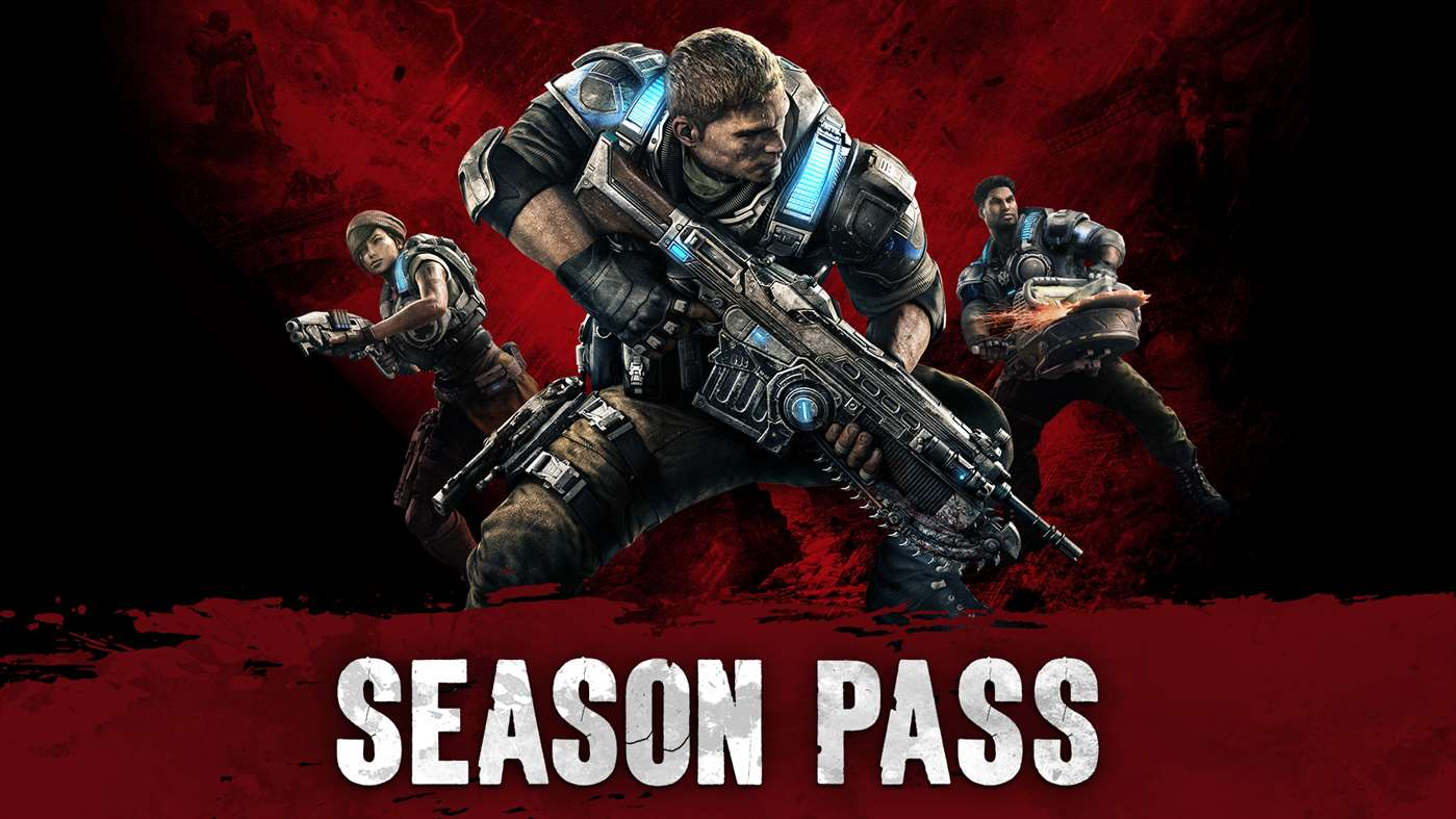 Gears of War 4 Season Pass key Xbox One Windows 10
