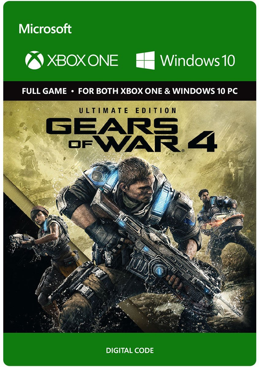 Gears of War 4 Ultimate Edition Xbox One Win 10 GLOBAL