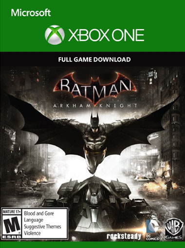 Batman Arkham Knight Xbox One digital key GLOBAL