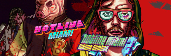Hotline Miami 1 + 2 Combo Pack ( STEAM GIFT RU + CIS )