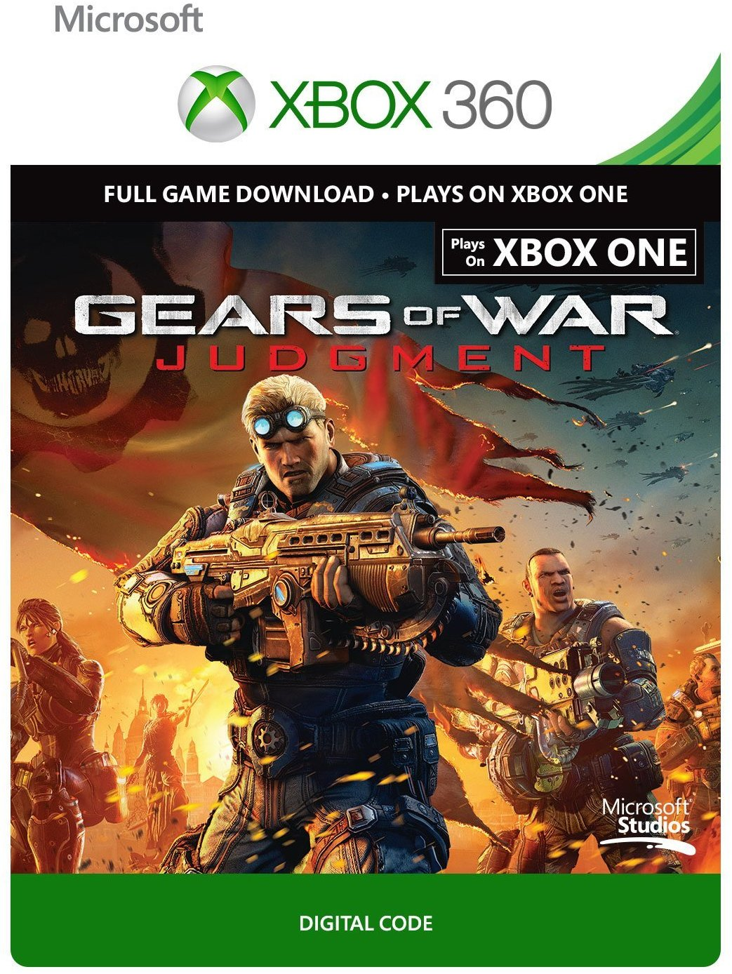 Gears of War Judgment Xbox 360/One digital code R. FREE