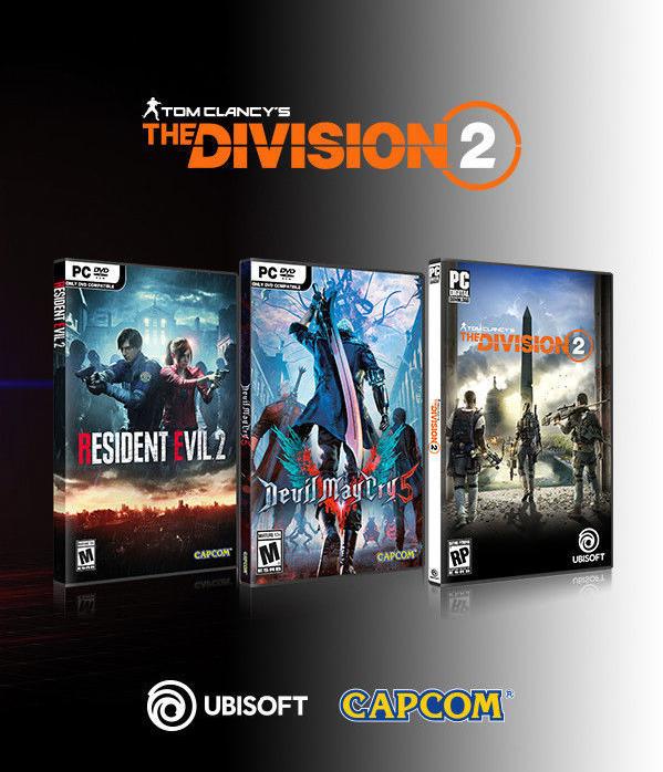 AMD Bundle Resident Evil 2 Remake, DMCV, The Division 2 2019