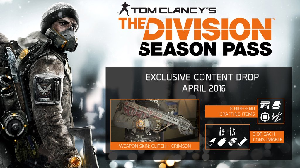 Tom Clancys The Division Season Pass(Steam Gift)+Gift