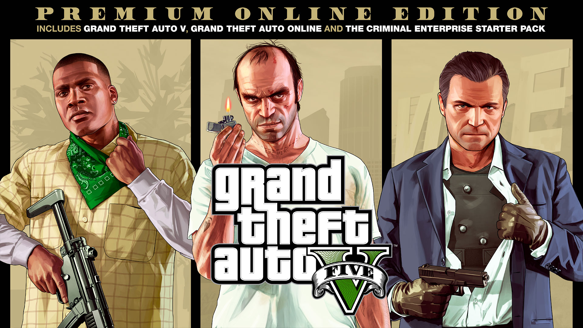 Grand Theft Auto V: Premium Edition + Online (EGS)