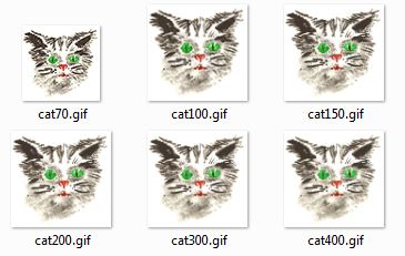 Animated Picture Talking cat